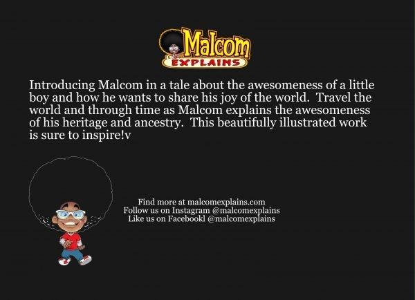 Malcom Explains I Am Awesome CoverCover