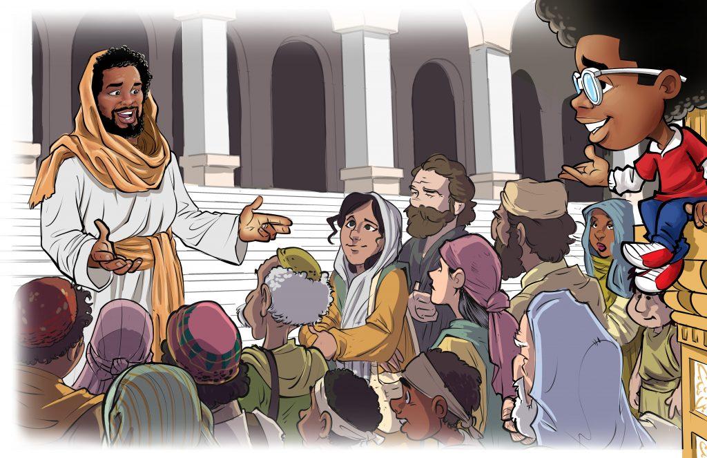 Malcom Explains: I Am Awesome Black Jesus Image - Written by Joedy Barnes