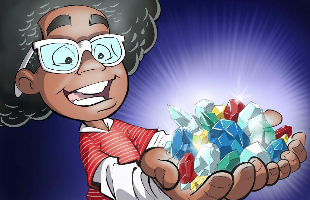 Malcom Explains: I Am Awesome jewel image - Written by Joedy Barnes