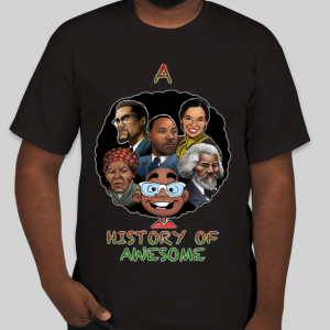History of Awesome T Shirt